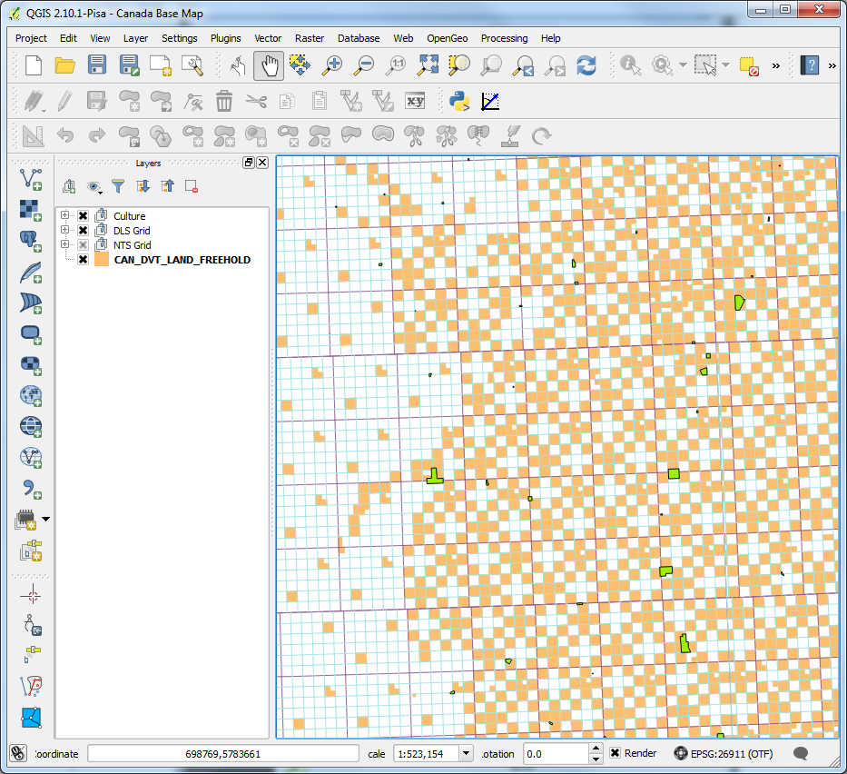 freehold-land-qgis